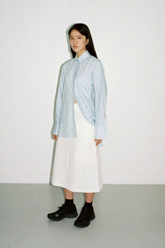 HELVETICA POCKET SKIRT